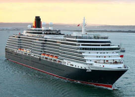 Cunard Queen Elizabeth Qe - - Queen Victoria 2017/2018/2019/2020/2021